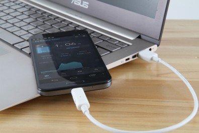 зарядка android от ноутбука