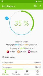 Как проверить количество циклов зарядки Android аккумулятора