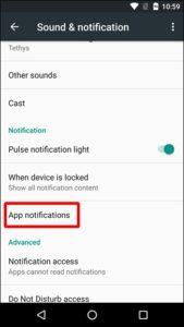 Как на Android 8/7/6 отключить уведомления приложений