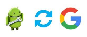 Android не включается синхронизация аккаунта Google